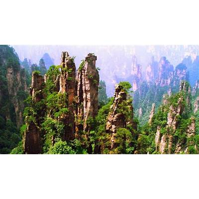 Travel Trip Journey: Tianmen Mountain National Park