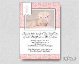 Baptism invitation free printable baptism invitations for Personalized baptism invitation free