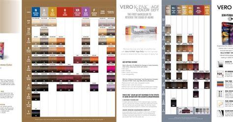 Joico Vero K-pak Color Shades Palette 2014.