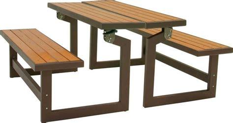 convertible picnic table bench lifetime convertible picnic table bench patio table