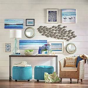 extraordinary beach wall decor welcome to d on ideas for a With inspiring beach themed wall decals