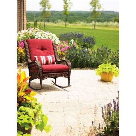 better homes and gardens wicker patio cushions discount better homes and gardens azalea ridge porch deck