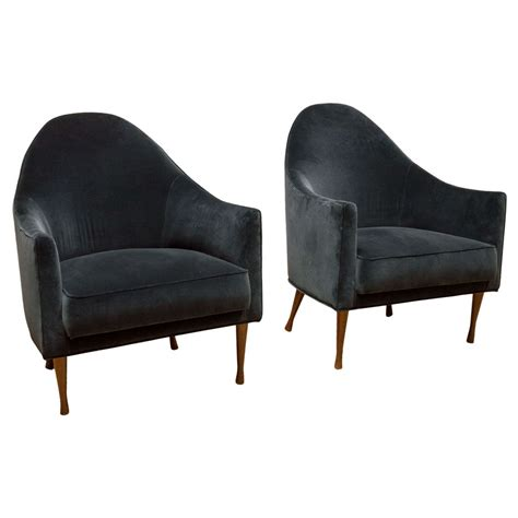 paul mccobb symmetric lounge chairs at 1stdibs