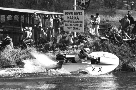 mini hydroplane races   dangerous  didn