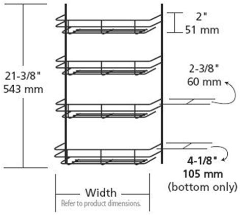 Wire Spice Racks For Cabinets by Door Mount Spice Racks Rta Cabinet Store