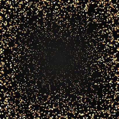 Gold Stars Background Vector Golden Clipart Celebration