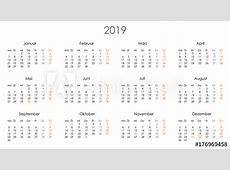 Kalender 2019 Jahresplaner Jahreskalender Kalendervorlage