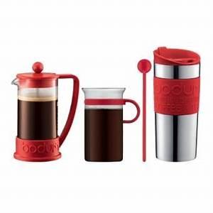 Verre à Café : set brazil bodum avec cafeti re piston 3 tasses mug de voyage inox et verre caf rouge ~ Teatrodelosmanantiales.com Idées de Décoration