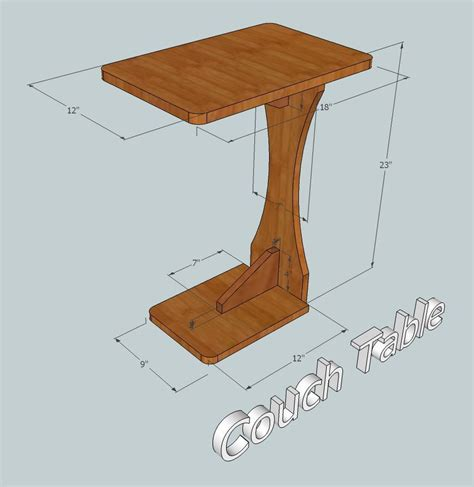 couch table table plans woodworking  woods