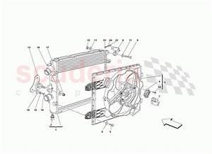 Ferrari 430 Challenge  2006  Cooling System Radiators