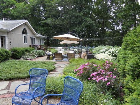 Suburban Backyard Landscaping Ideas by Suburban Backyard Andrew Grossman Landscape Design