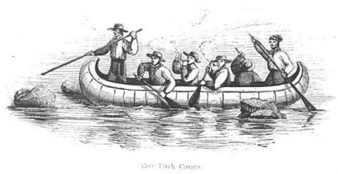 Canoes Used In The Fur Trade by Traders The U S Dakota War Of 1862