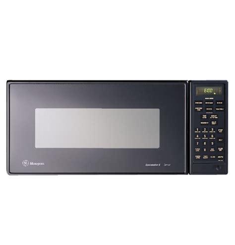 zemgy ge monogram black  cu ft compact microwave oven  sensor cooking controls