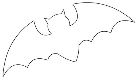 flying bat template 5 decorations