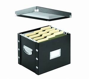 38900 snap n store letter size file box black With letter size file box