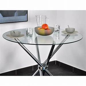table ronde fogga 89 cm comparer avec touslesprixcom With deco cuisine avec table a manger 80 cm de large