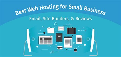 web hosting  small business email builders