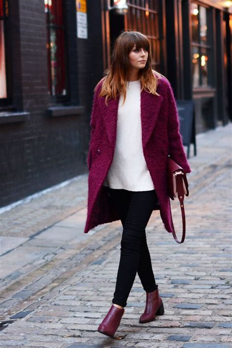 How To Wear Burgundy Boots Like A Fashion Diva - fashionsy.com
