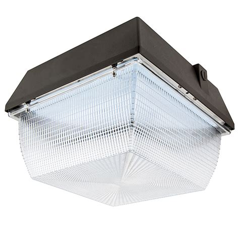 canap駸 lits led canopy light and parking garage light 100w 4000k 175w mh equivalent 9 000