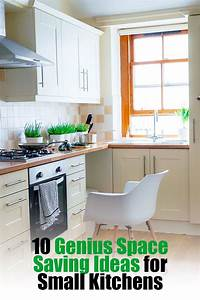 10, Genius, Space, Saving, Ideas, For, Small, Kitchens