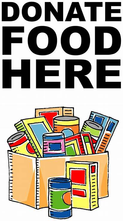 Drive Canned Clip Clipart Donations Pantry Christmas