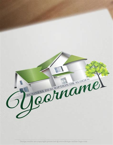 exclusive design real estate house logo  business card