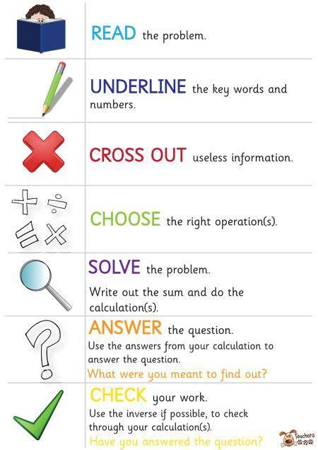 teacher s pet problem solving check list free classroom display resource eyfs ks1 ks2
