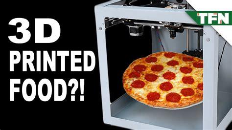 3d cuisine 3d printed food recipes food