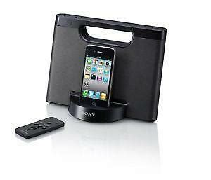 ipod speakers portable wireless station ebay