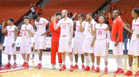 uh mens basketball university  houston  florida