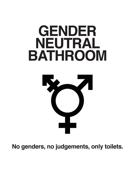 Gender Neutral Bathroom by Every Person At C Can Find Their True Self Urj C