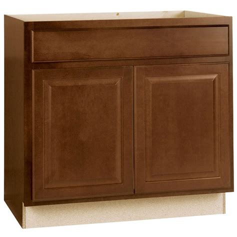 home depot sink cabinet hton bay hton assembled 36x34 5x24 in sink base