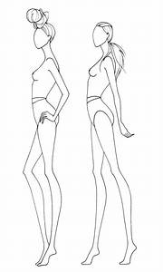pin by shannon daniels on drawn pinterest finishing With fashion designer drawing template