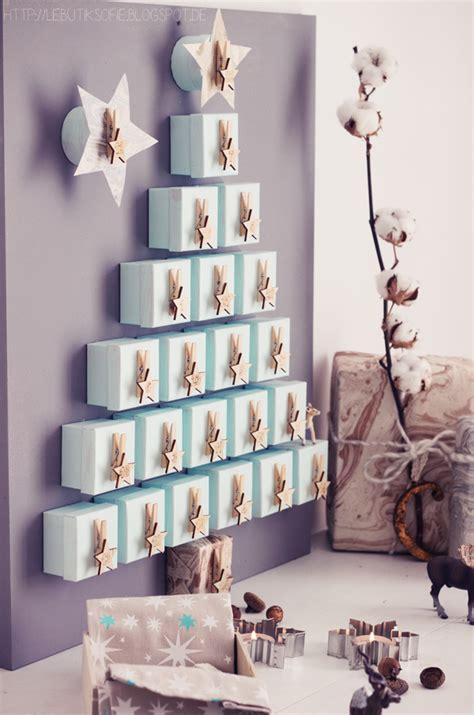 butiksofie  tannenbaum adventskalender und weihnachtsbaeckerei