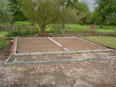 timber framed building base preparation pave your way