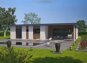 petite maison contemporaine toit plat mc immo With lovely maison toit plat en l 0 maison neuve avec piscine toit plat