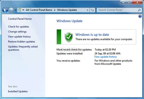Get Windows 7's Advanced