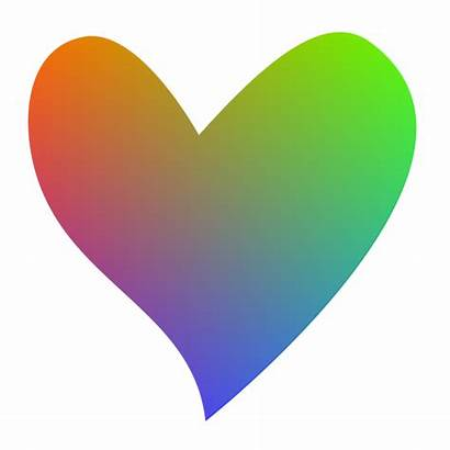 Clipart Heart Hearts Colorful Clipartion