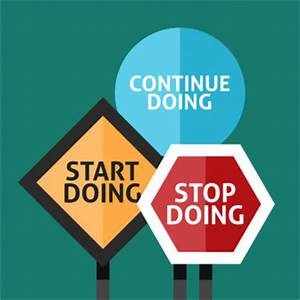 start stop continue template - trello templates to boost your remote retrospectives