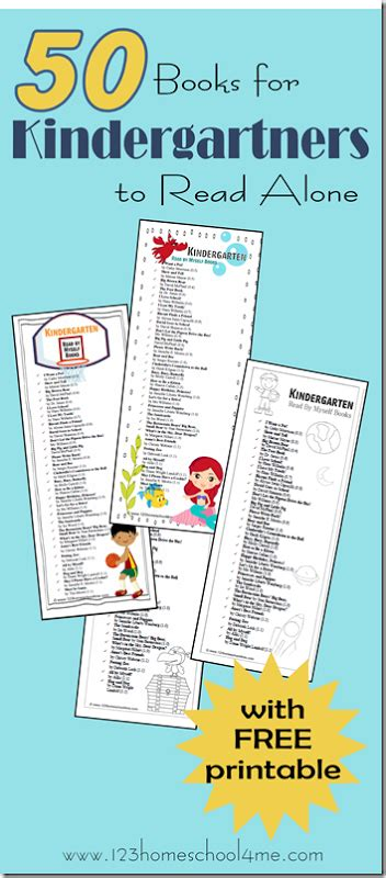 books kindergarteners can read alone free printables 270 | 9596e4978f4156f7b9ea30a549279a30