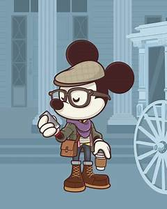 NEW Hipster Mickey art to debut at WonderGround Gallery ...
