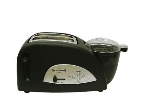 Back To Basics Egg And Muffin Toaster - back to basics tem500 egg and muffin 2 slice toaster and