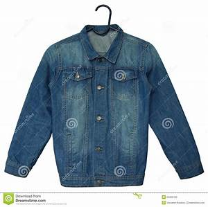 Denim jacket stock photo. Image of cotton garment blue - 54205702