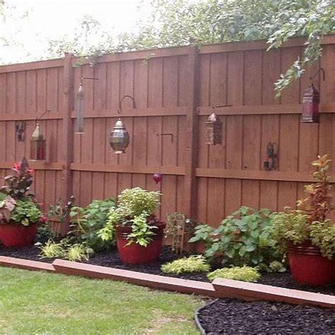 backyard fence ideas   fences  pinterest