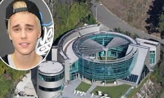 justin bieber s 60k per month la mansion trashed after post grammy bash daily mail