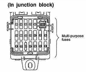 1993 Mitsubishi Fuse Diagram