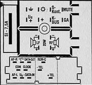 Skoda Car Radio Stereo Audio Wiring Diagram Autoradio