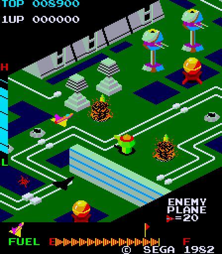 Super Zaxxon Top 80s Games