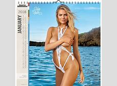 Sports Illustrated Swimsuit Deluxe Wall Calendar 2018