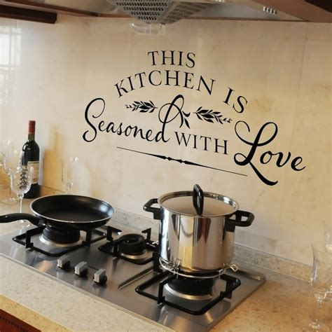 Decorating Ideas For Large Kitchen Wall by How To Decorate A Large Kitchen Wall Theydesign Net